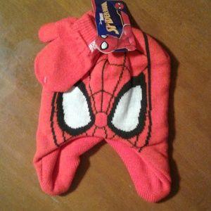 Red Spider-Man beanie + beanie